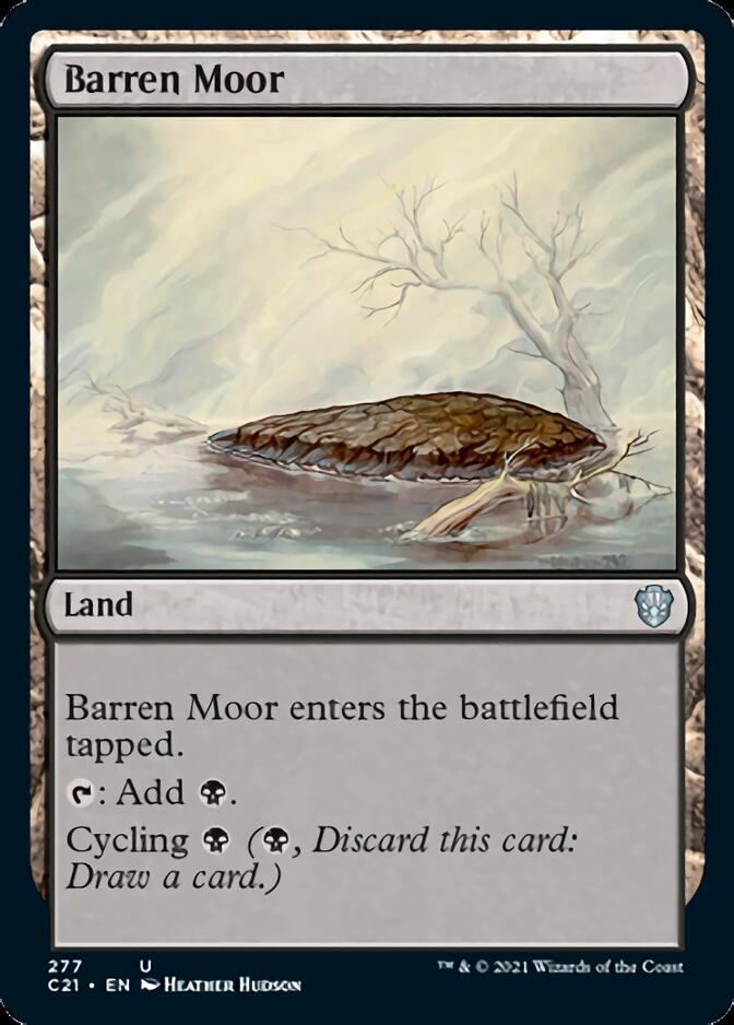 Barren Moor [C21]