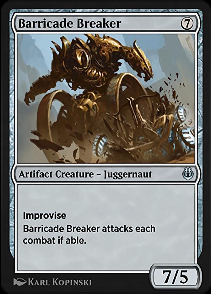 Barricade Breaker [KLR]