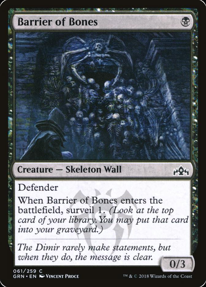 Barrier of Bones [GRN]