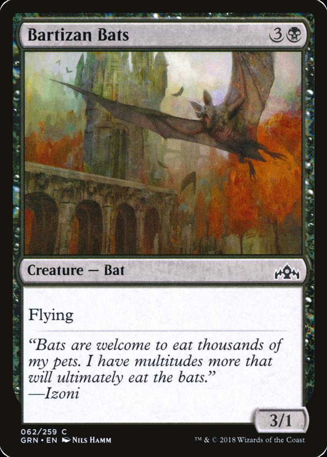 Bartizan Bats [GRN]