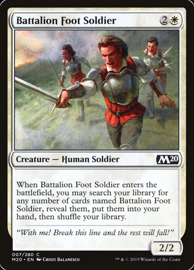 Battalion Foot Soldier [M20]