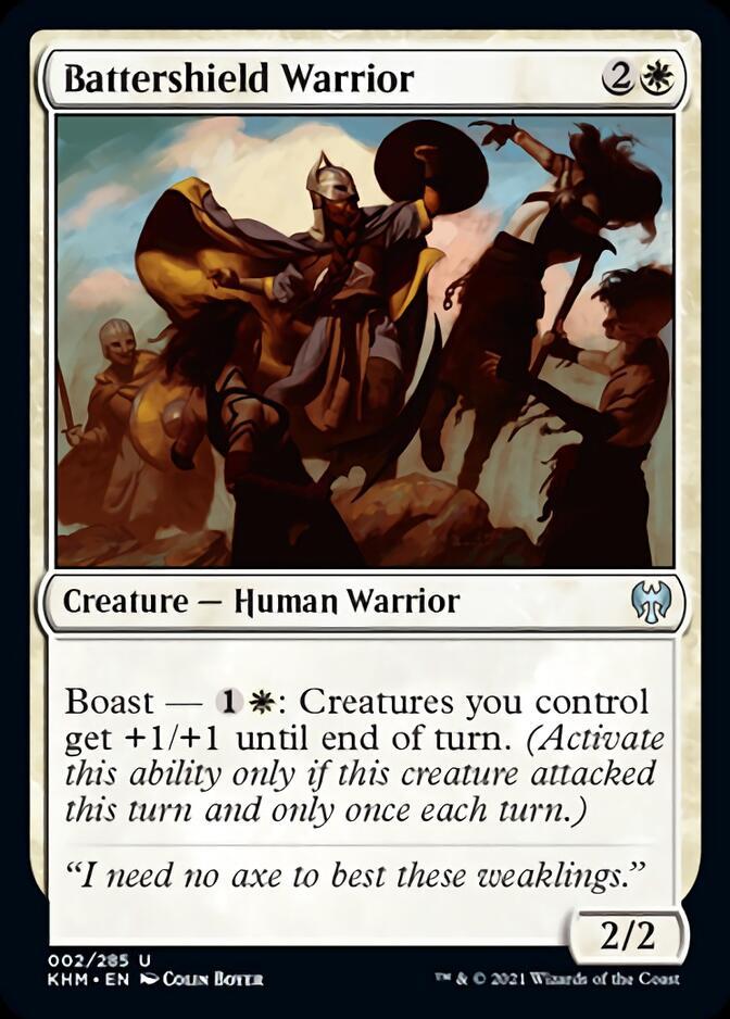 Battershield Warrior [KHM]