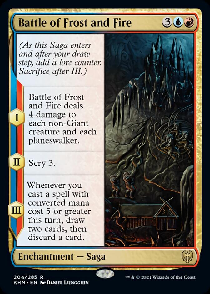 Battle of Frost and Fire [KHM]