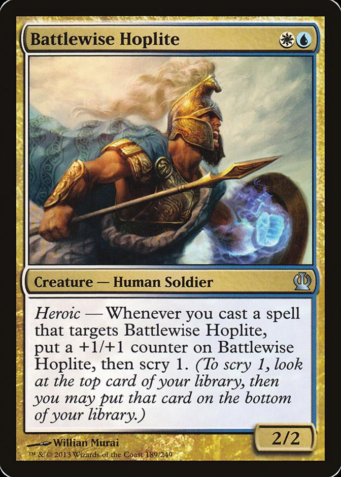 Battlewise Hoplite [THS] (F)