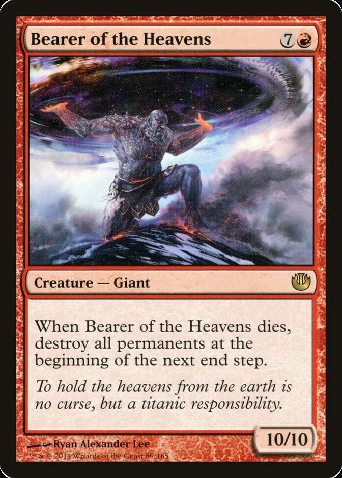 Bearer of the Heavens [JOU] (F)