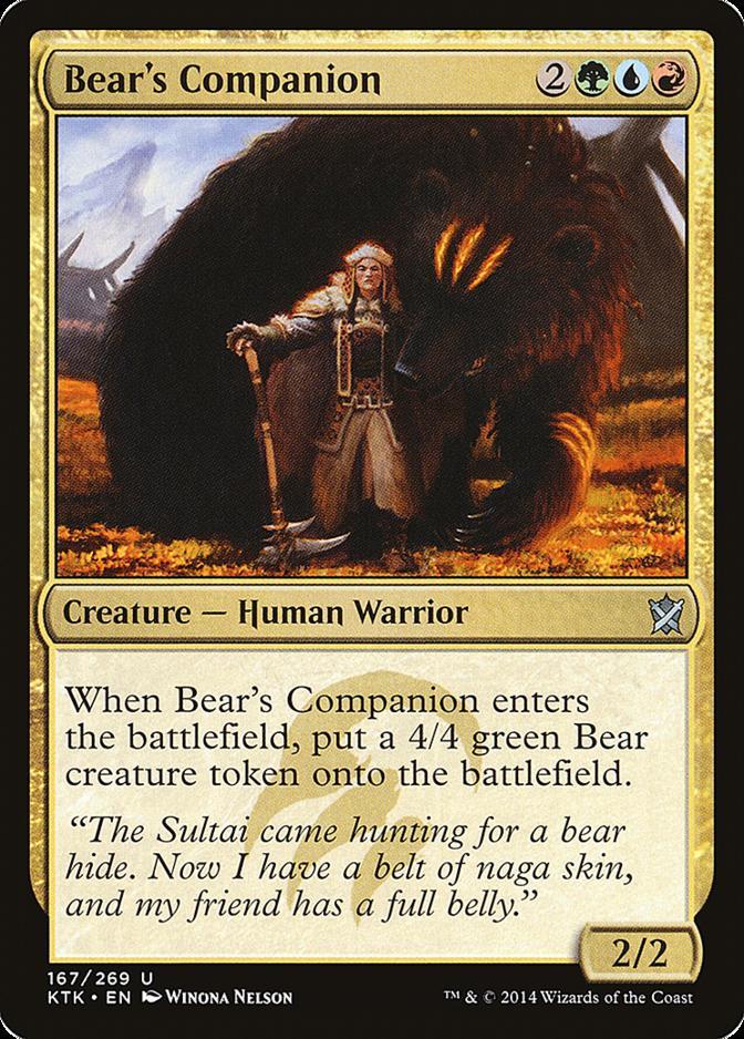 Bear's Companion [KTK]