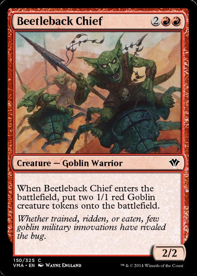Beetleback Chief [VMA] (F)