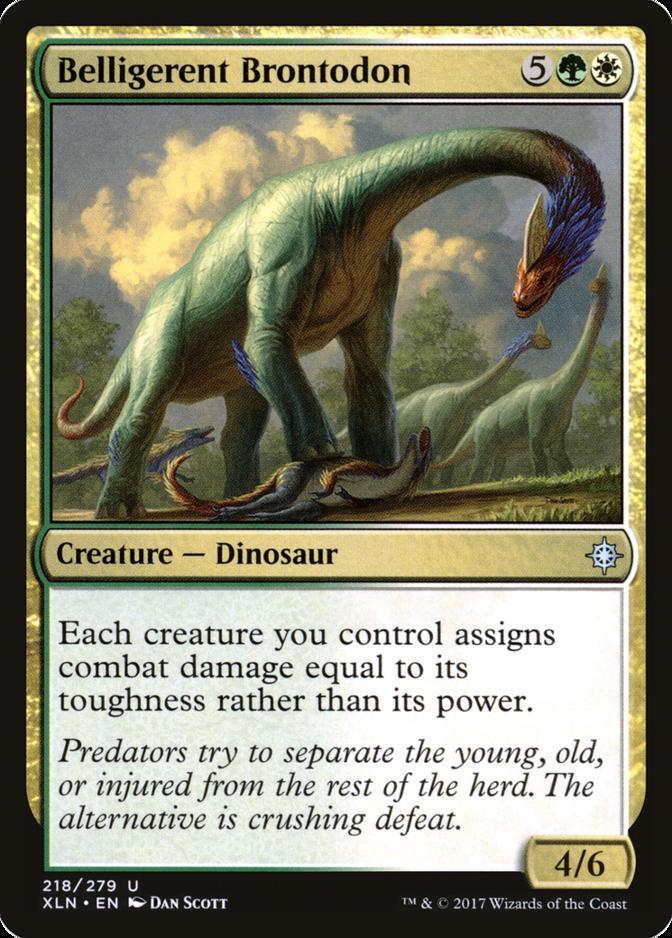 Belligerent Brontodon [XLN]