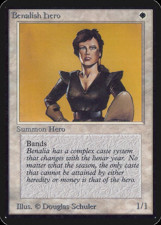 Benalish Hero [LEA]
