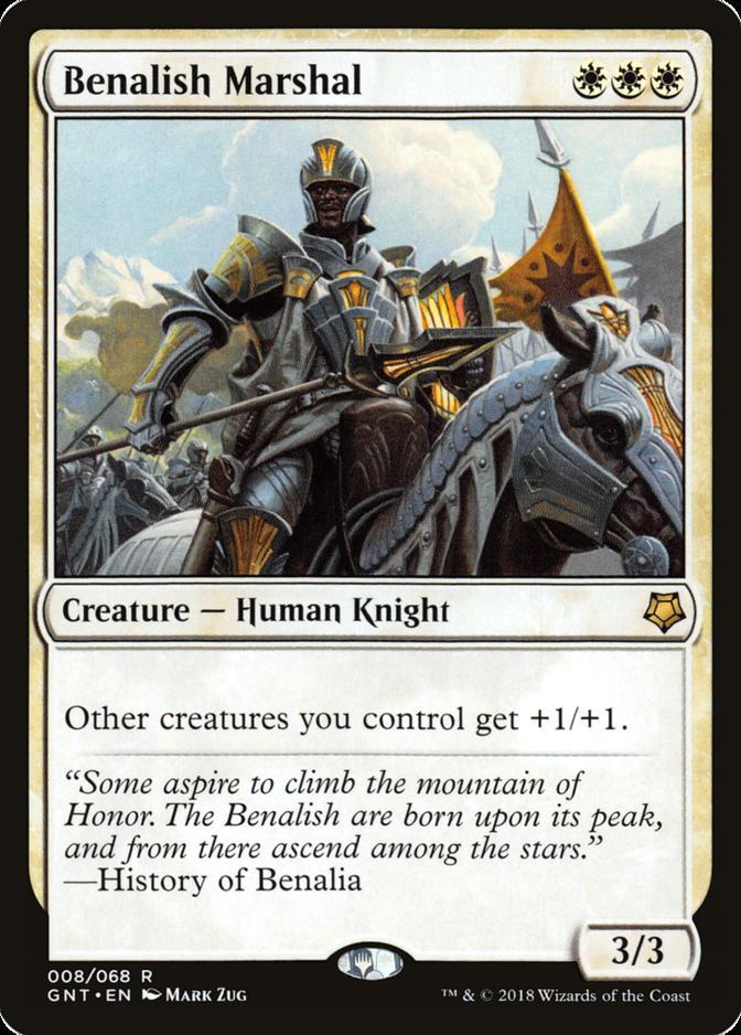 Benalish Marshal [GNT]