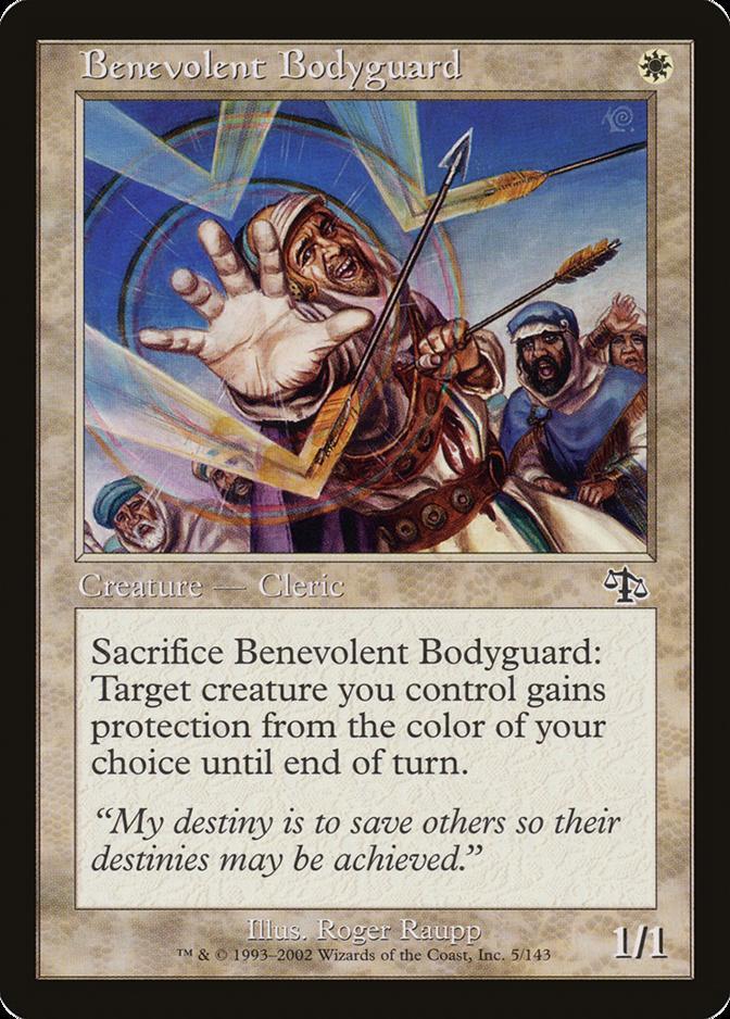 Benevolent Bodyguard [JUD] (F)