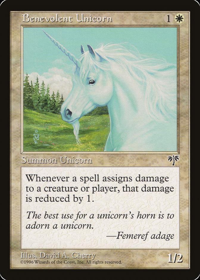 Benevolent Unicorn [MI] (F)