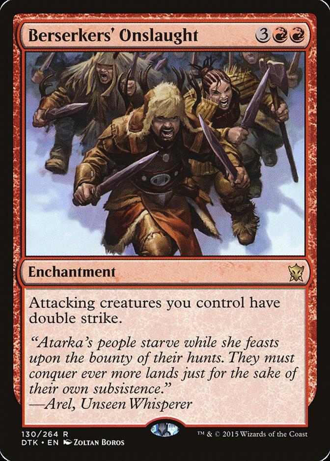 Berserkers' Onslaught [DTK]
