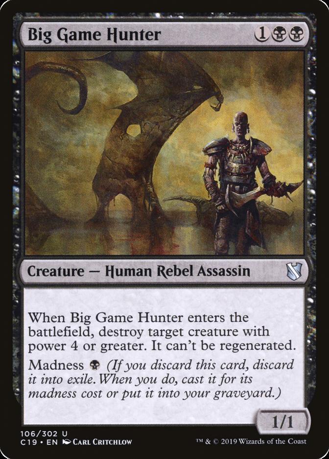 Big Game Hunter [C19]