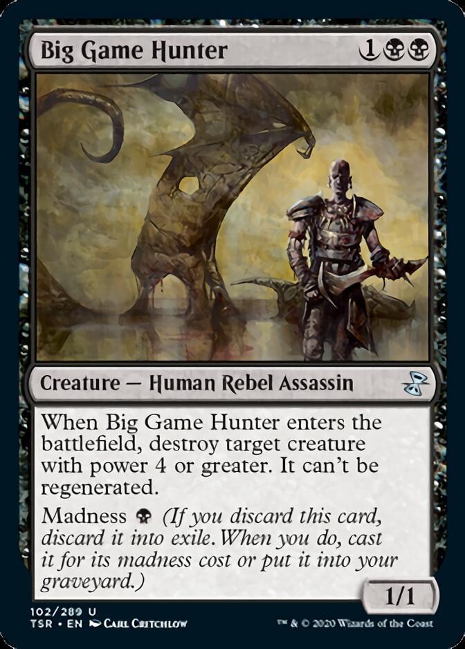 Big Game Hunter [TSR]