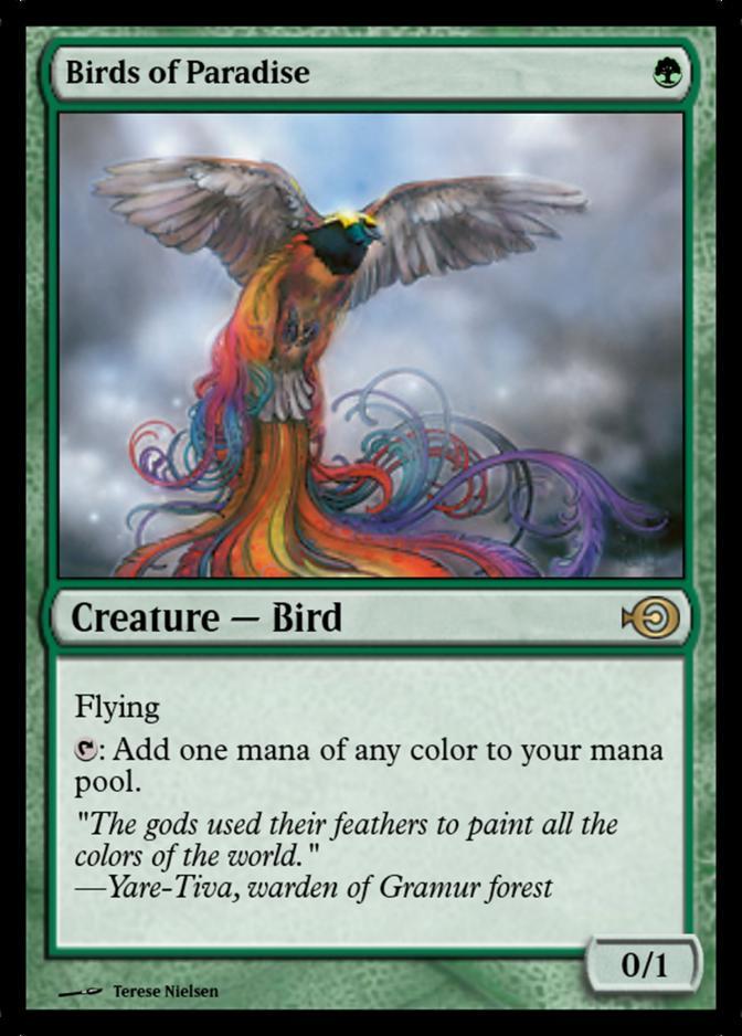 Birds of Paradise [PRM]