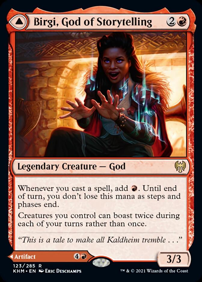 Birgi, God of Storytelling [KHM]