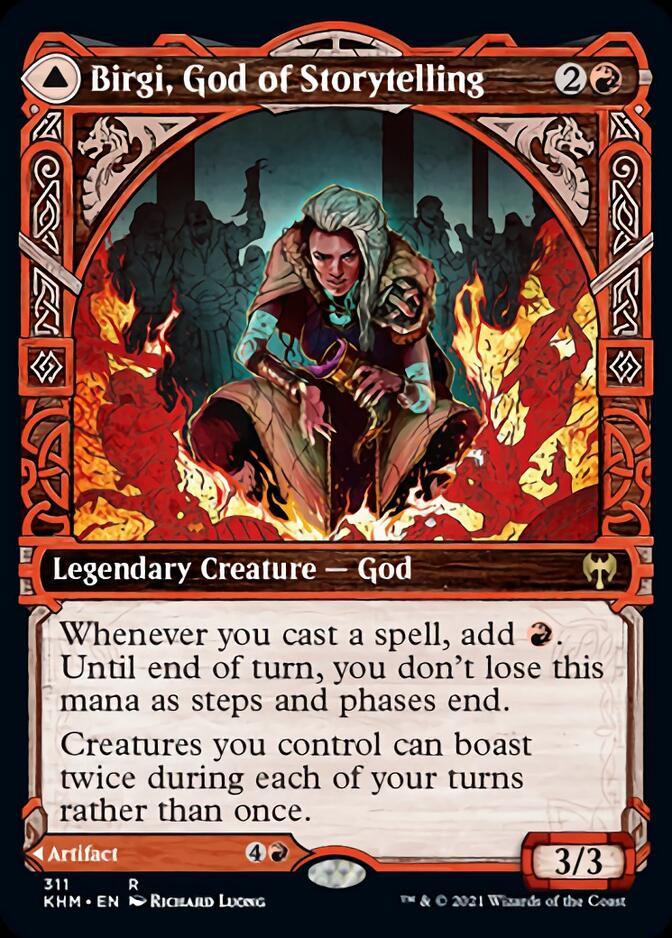 Birgi, God of Storytelling <showcase> [KHM]