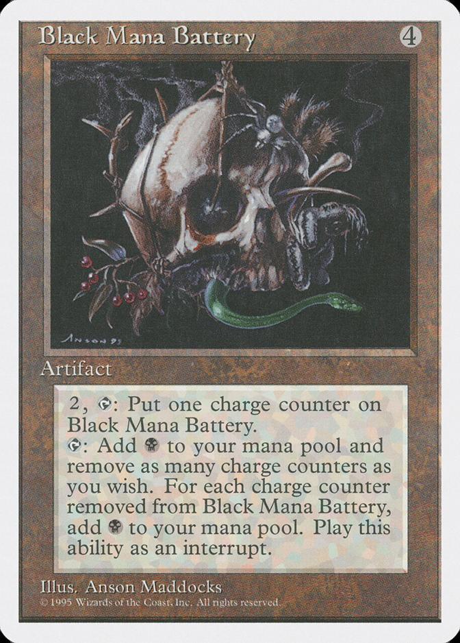 Black Mana Battery [4ED]