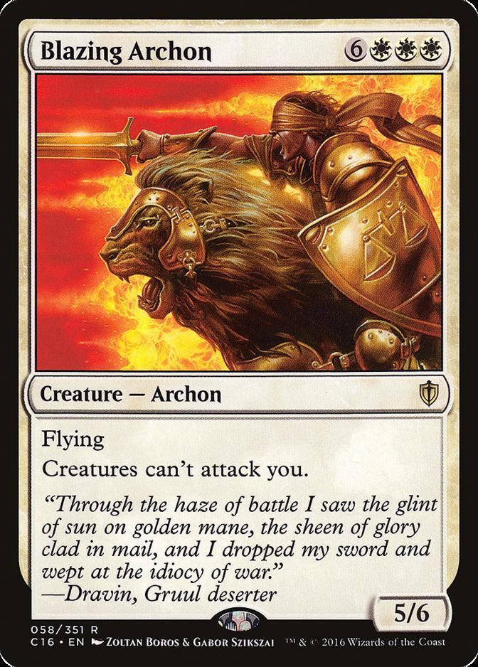Blazing Archon [C16]
