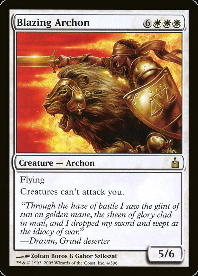 Blazing Archon [RAV] (F)