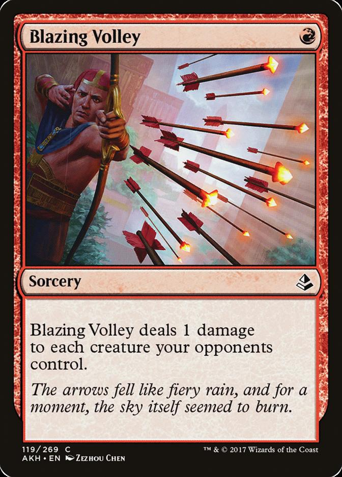 Blazing Volley [AKH]