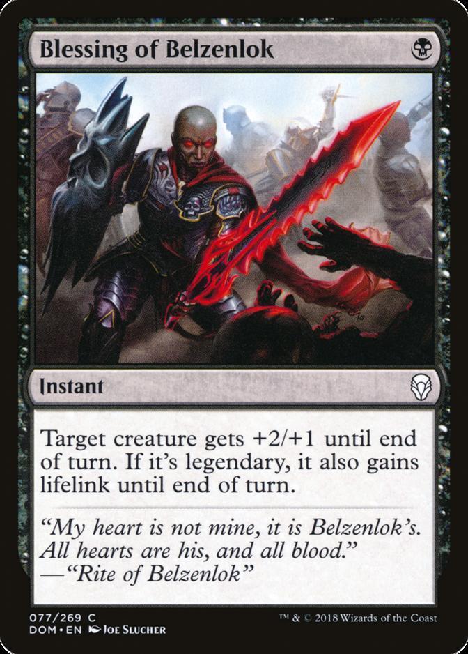 Blessing of Belzenlok [DOM]