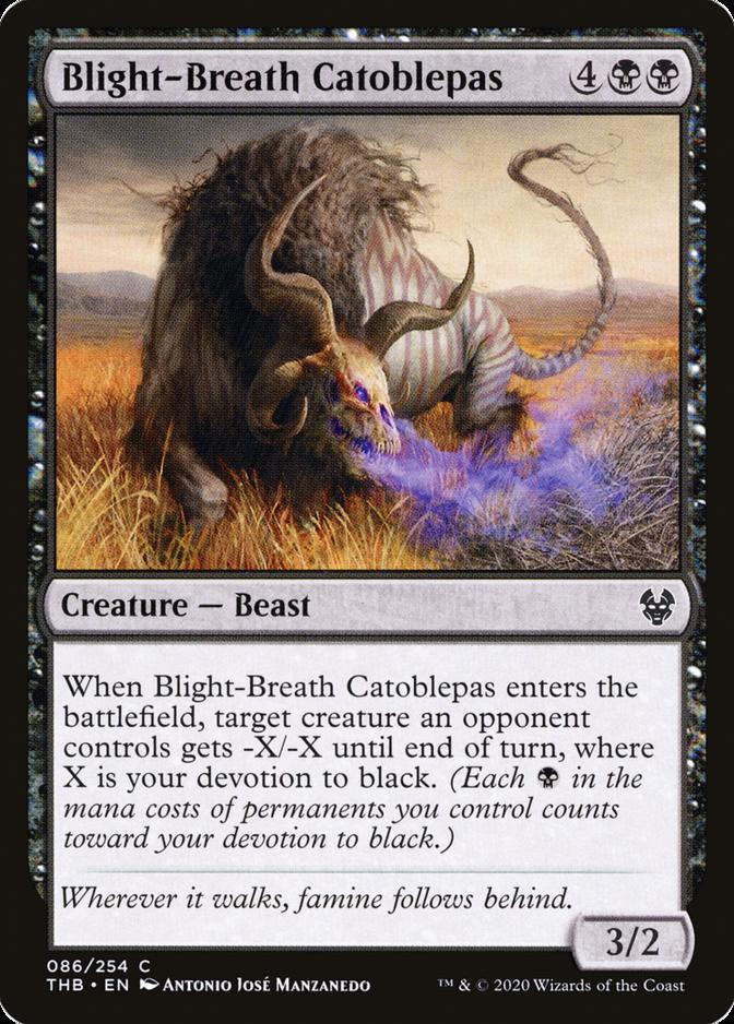 Blight-Breath Catoblepas [THB]