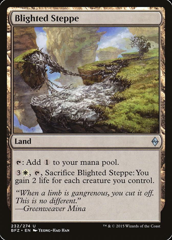 Blighted Steppe [BFZ] (F)