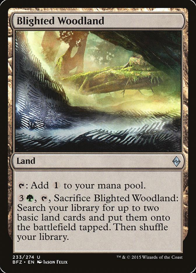 Blighted Woodland [BFZ] (F)