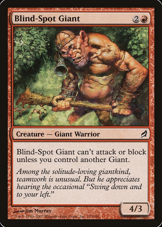Blind-Spot Giant [LRW]
