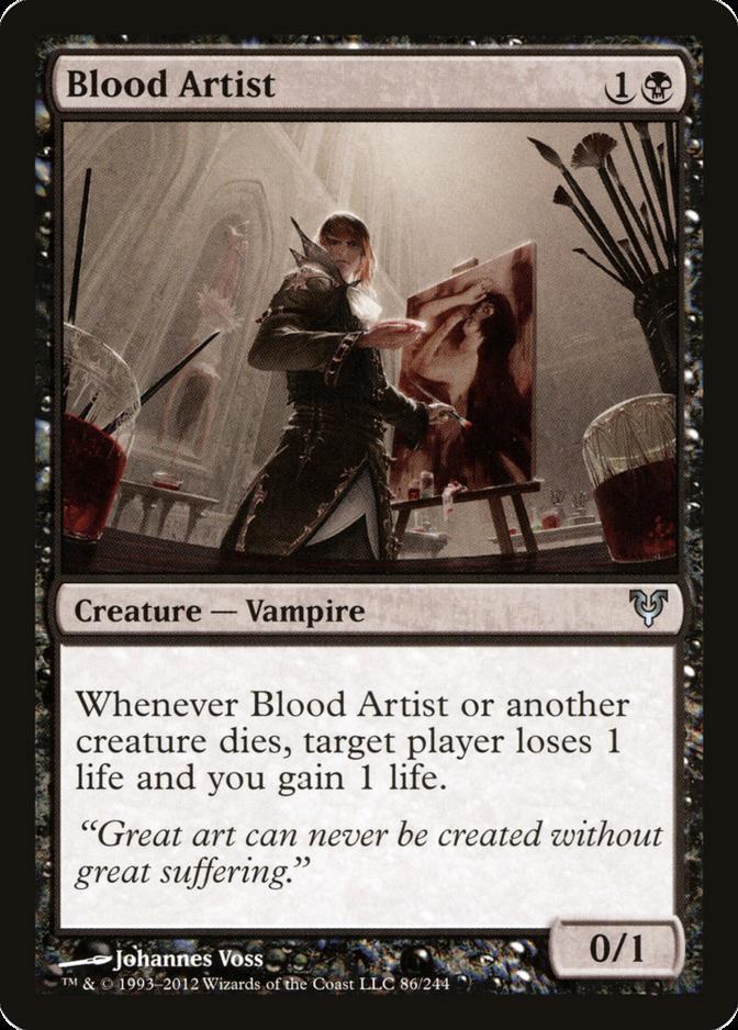 Blood Artist [AVR] (F)