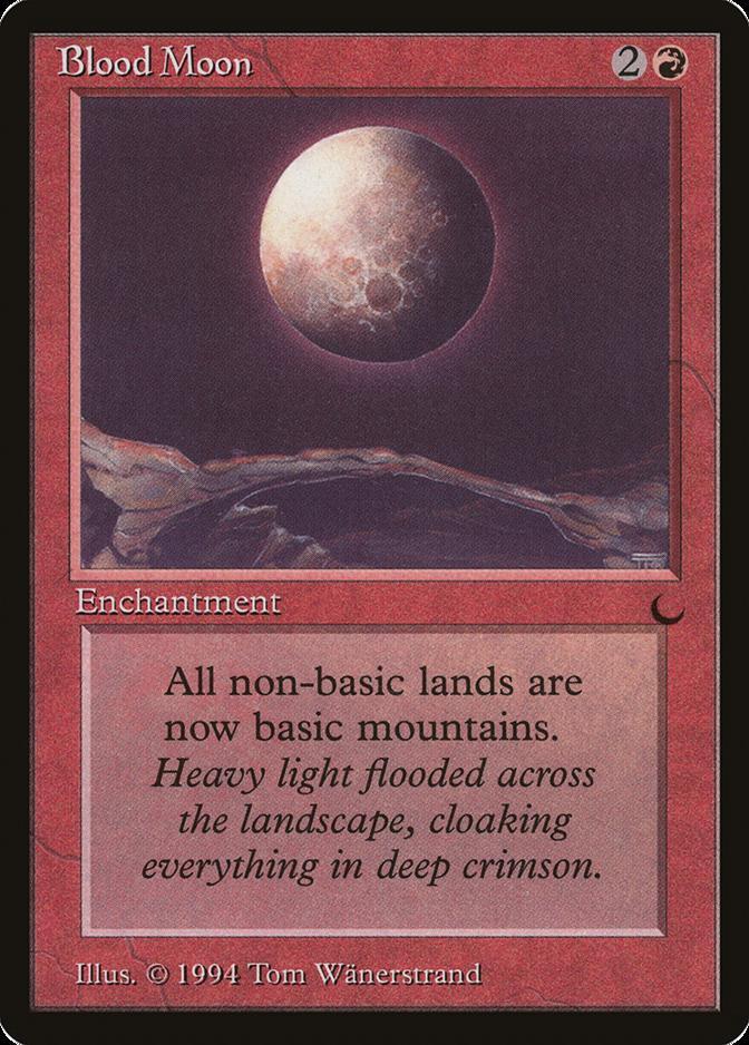 Blood Moon Chronicles Rare  EN NM MTG