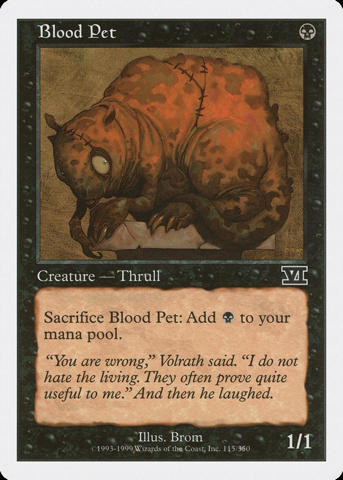 Blood Pet [6ED]
