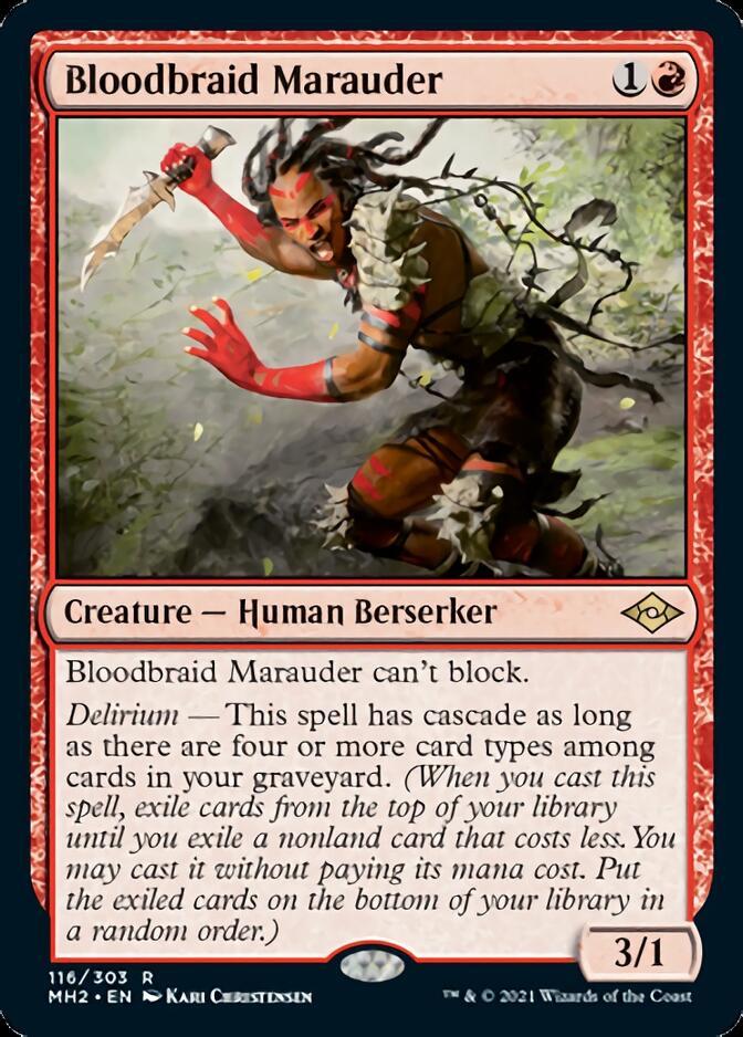 Bloodbraid Marauder [J21]