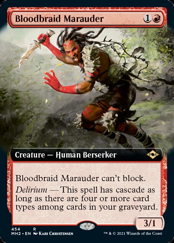 Bloodbraid Marauder <extended> [MH2]