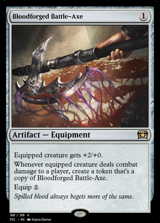 Bloodforged Battle-Axe [PZ2]