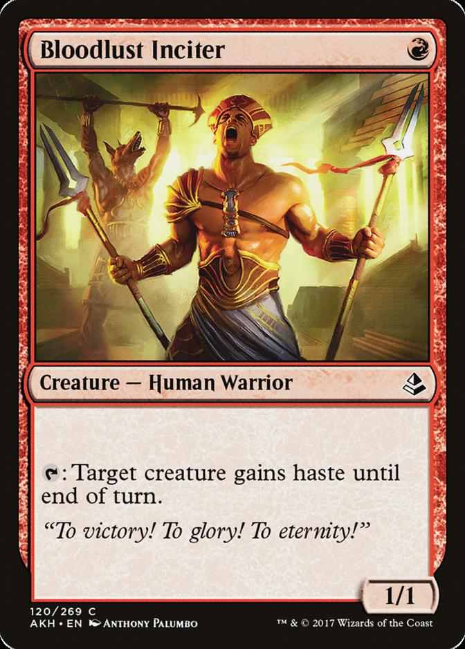 Bloodlust Inciter [AKH]