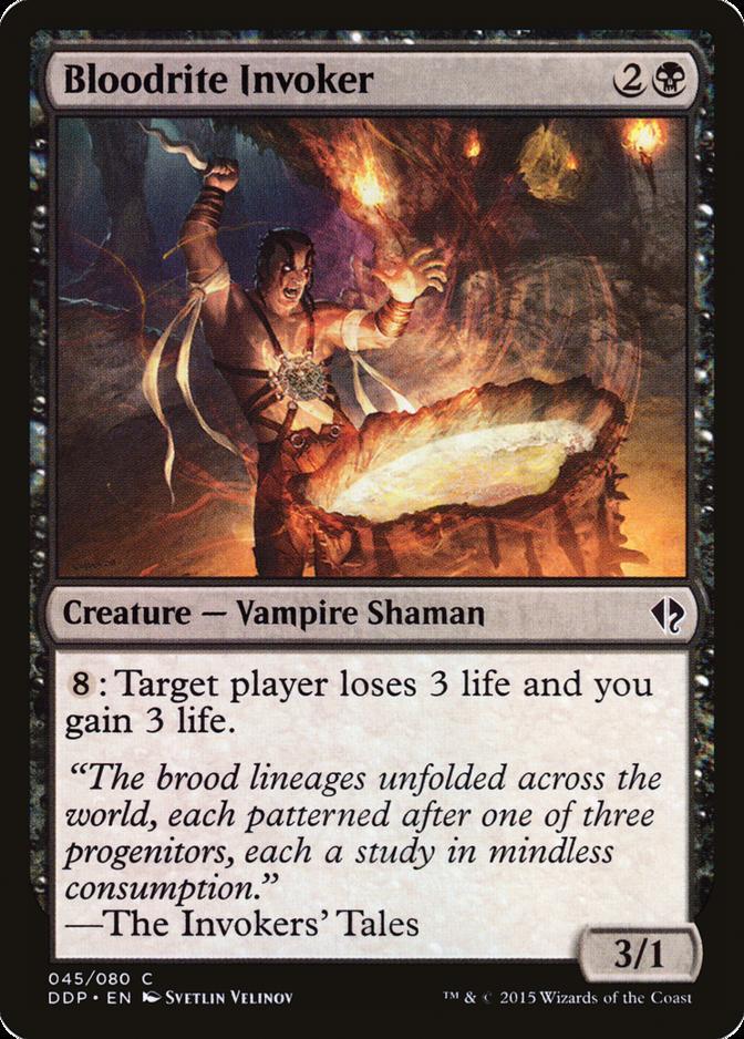 Bloodrite Invoker [DDP]