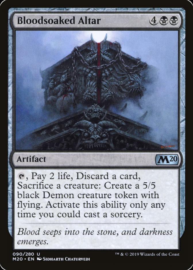 Bloodsoaked Altar [M20]