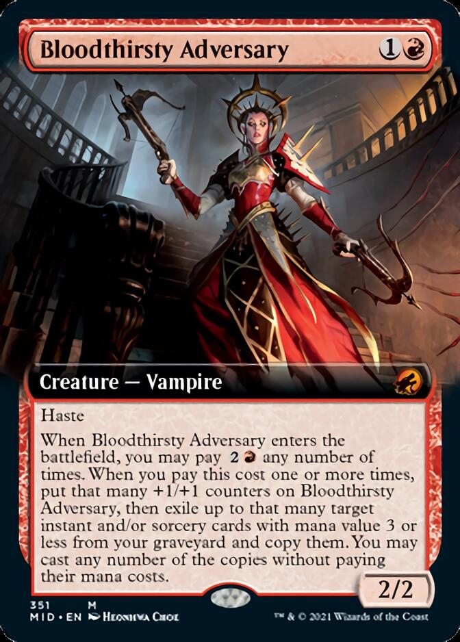 Bloodthirsty Adversary <extended> [MID]