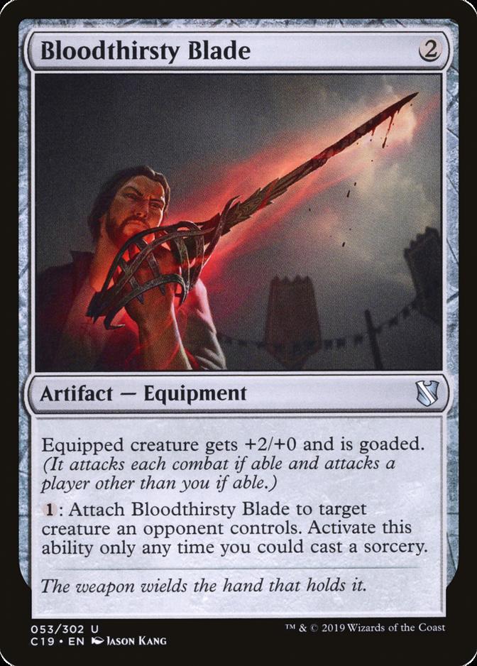Bloodthirsty Blade [C19]