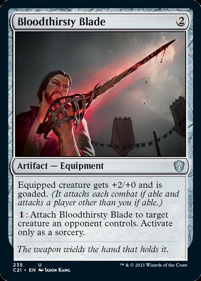 Bloodthirsty Blade [C21]