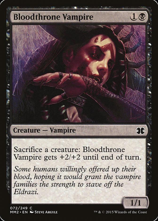 Bloodthrone Vampire [MM2]