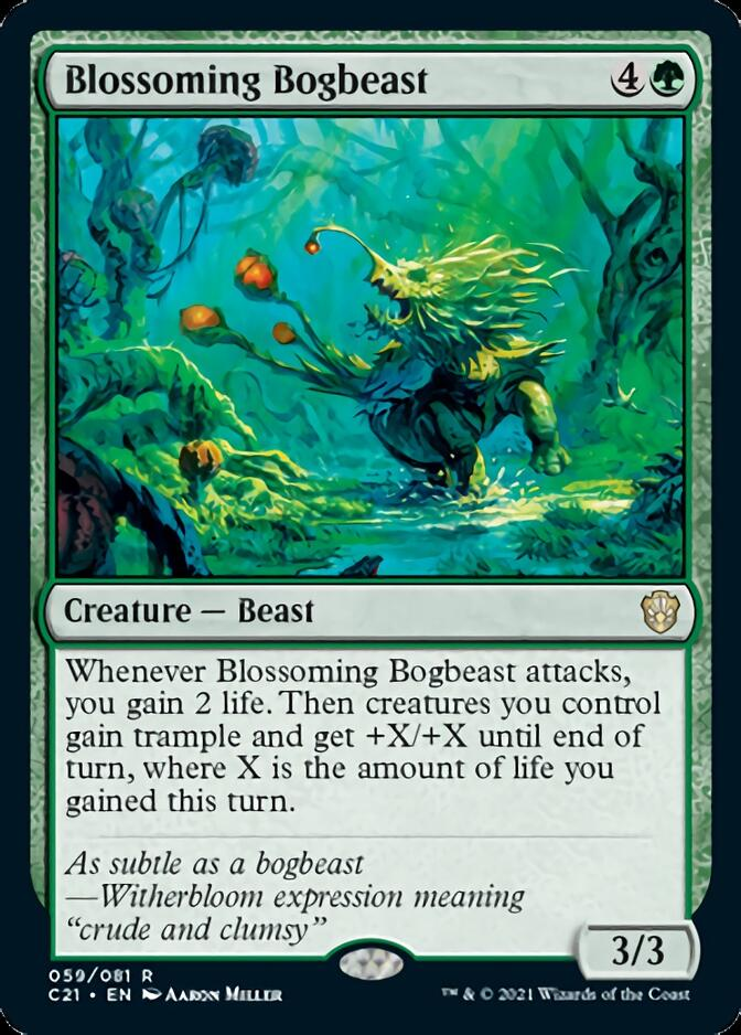 Blossoming Bogbeast [C21]
