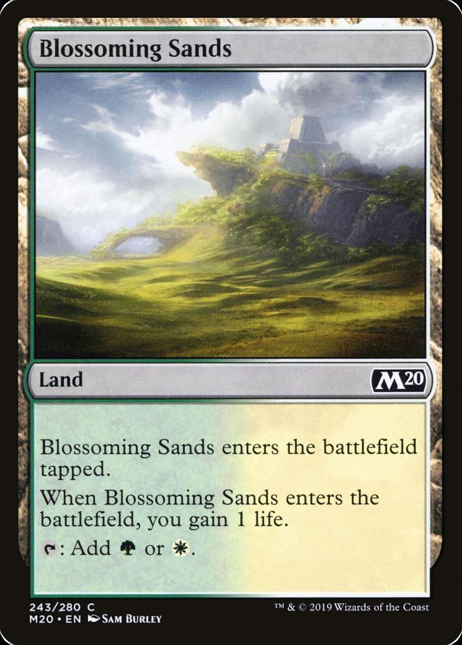 Blossoming Sands [M20] (F)