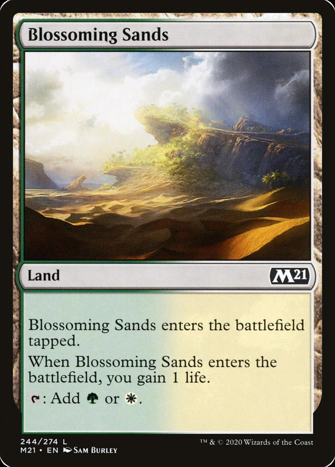 Blossoming Sands [M21]