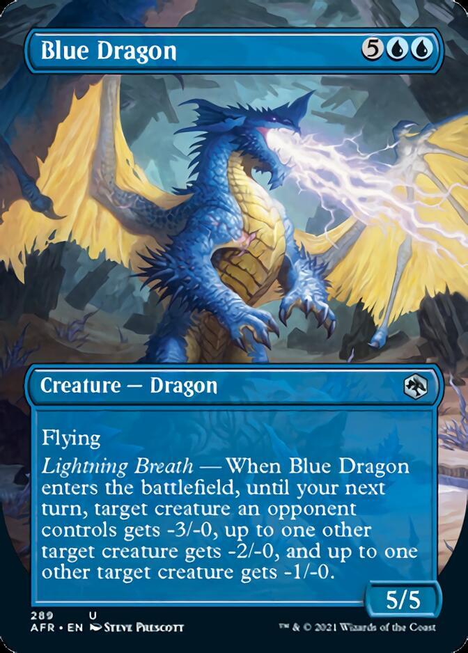 Blue Dragon <borderless> [AFR]