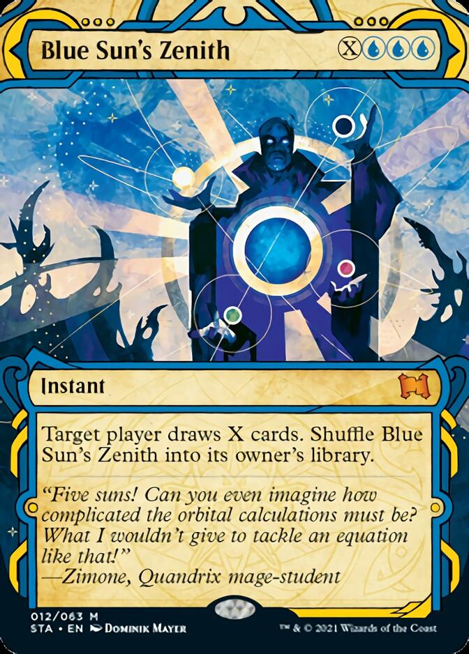 Blue Sun's Zenith [STA]
