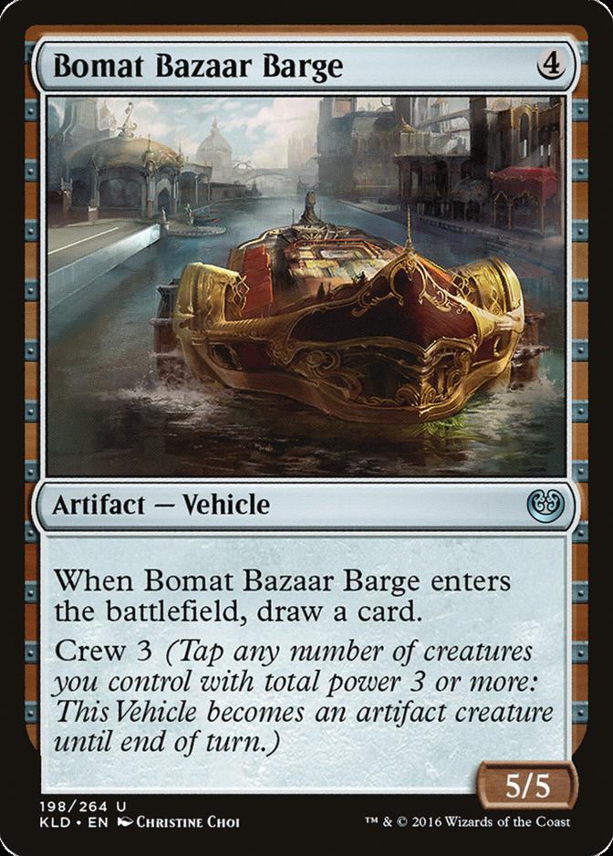 Bomat Bazaar Barge [KLD]
